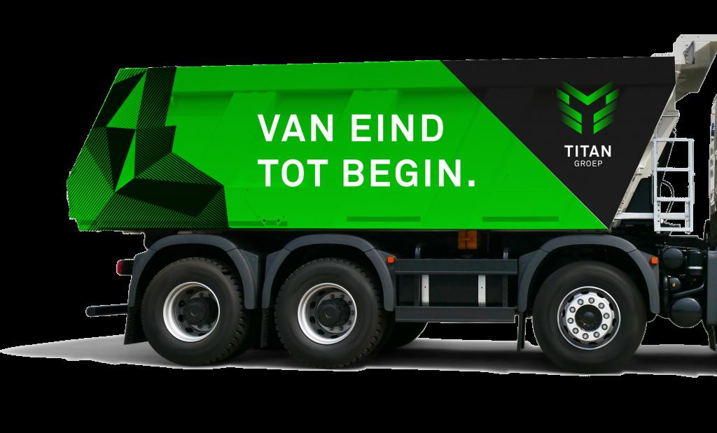 Vrachtwagen Titangroep
